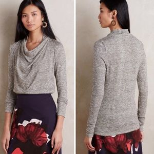 Anthropologie Cowl Neck Sweater XS